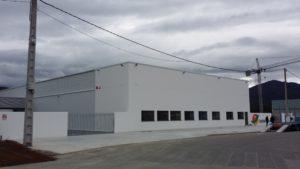Nave industrial para almacén de frutas – Polígono Industrial de Barreiros
